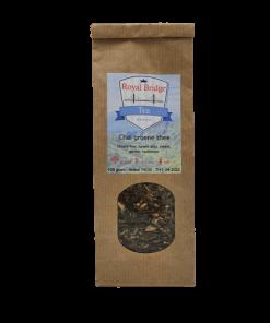 Chai Groene Thee is een smaakvolle thee met al het goede van groene thee. Voor deze thee maken wij gebruik van een 100% biologische groene Sencha thee.
