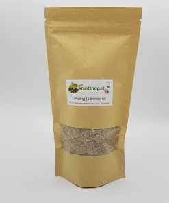Ginseng (Siberische). zou de cholesterolspiegel gunstig beïnvloeden, de bloeddruk verlagen en verkoudheid sneller helpen genezen.