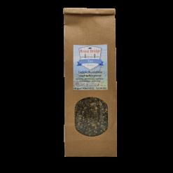 Vochtafdrijvend. Een gezondheidsthee die u kan helpen om vacht te verliezen. Deze thee is water- en urine afdrijvend. Gezondheidsthee is geen geneesmiddel. Raadpleeg uw arts.