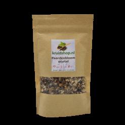 Naast de bloem kan van de paardenbloem ook de wortel gebruikt worden om thee van te zetten. De wortel heeft een hoge concentratie van de werkzame stoffen.