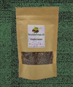 Valeriaan de wortel wordt gebruikt voor de kruidenthee. 100% natuurlijk product. Werkzame stoffen zijn o.a. valerotriaat, alkaloïden - valerine en chatinine