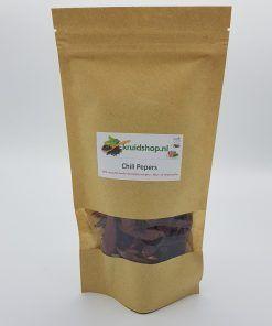 Chili Cayenne pepers. Ideaal om je eten of kruidenthee een lekker pittige bite mee te geven. Natuurlijk een 100% natuurlijk product.