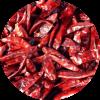 Chili pepers worden vooral gebruikt om gerechten een pittige smaak te geven.