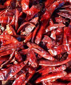 chili peper gedroogd
