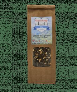 Groene Thee Gember is op basis van onze biologische Groene Thee Sencha aangevuld met 100% natuurlijke gember zonder geur-, kleur- en smaakstoffen.