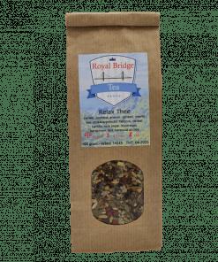 Relax thee, de naam zegt het al. Een thee om heel relaxed van te genieten. Deze thee zit boordevol heerlijke ingrediënten