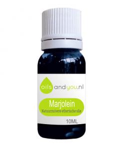 Marjolein olie kan helpen bij een slechte bloedcirculatie (koude handen en voeten), blauwe plekken, kneuzingen, menstruatiepijn, migraine of slecht slapen. Verpakt per 10 ml