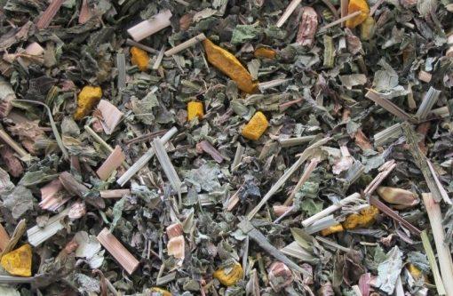 Detox kukurma pepermunt thee is een gezondheidsthee op basis van puur natuurlijke ingrediënten. zonder kunstmatige kleur-, geur- en smaakstoffen.