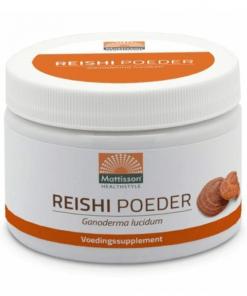 Absolute Reishi Premium Powder. Geeft energie en er zijn geen suiker of zoetstoffen aan toegevoegd. Allergenen vrij. Kan ontstekingsremmend werken.