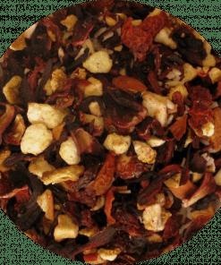 Aardbeien thee met een vleugje kiwi een heerlijke zomerse smaak! Zeer geschikt als ijsthee. Verpakt per 100 gram
