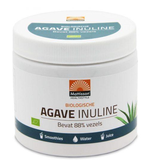 Absolute agave inuline bio. Verpakt per 200 gram. Inuline is een zogenaamde pre-biotica en wordt gebruikt bij darmproblemen.