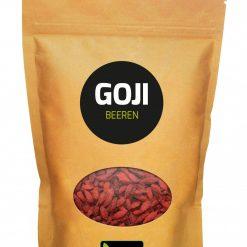 Zongedroogde Goji bessen 500 gram. rijk aan antioxidanten, bevatten veel selenium, germanium, proteïnen en andere zeer waardevolle vitaminen en mineralen.