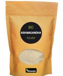 BIO Ashwagandha poeder 500 gram, speelt een belangrijke rol als versterkend middel in de Ayurvedische geneeskunde