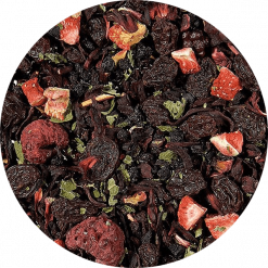 Bosvruchten thee Deze heerlijke biologische bosvruchten thee is heerlijk vol van smaak. Een intense bessenbeleving!