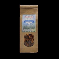 Goji bessen hennep thee Superfruit ontmoet super kruid in deze Goji bessen hennep thee. Het zal je enthousiasmeren met een fruitige explosie van het speciale type. Verpakt per 100 gram