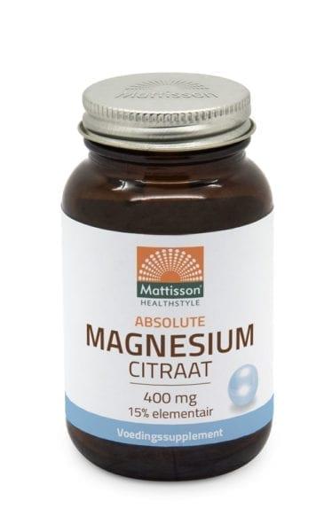 Active Magnesium citraat is magnesiumzout dat ongeveer 15% magnesium bevat. Magnesium is een mineraal dat je lichaam nodig heeft voor verschillende processen. Het zit van nature onder andere in cacao, noten, groene groente en vlees. Des te groener de groente des te meer Magnesium deze bevat.