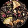 """Zwarte thee Guayusa Guava is een tropische verwennerij en pure """"joie de vivre"""" zijn verenigd in deze zwarte theemelange gemaakt van exotische guave en opwindende guayusa-bladeren. Een creatie die je doet dromen van je volgende vakantie."""