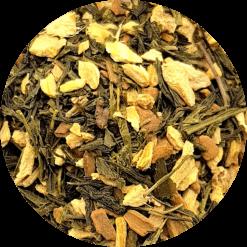 Groene thee gember kaneel, traktatie voor de liefhebber