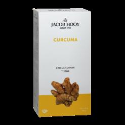 Jacob Hooy Kruidendrank Curcuma Een thee op bais van Curcuma (kurkuma). Handig om mee te nemen of als losse thee(kruiden) niet uw ding is. 20 zakjes van 1.8 gram per verpakking, voldoende voor een lekkere mok thee.