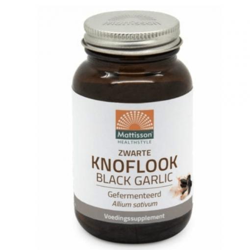 Zwarte Knoflook – Gefermenteerd extract ABG10+® 250mg caps.