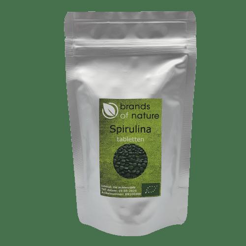 Brands of Nature Spirulina 300 tabletten