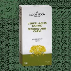 Een thee op basis van Venkel, anijs en karwijzaad. Handig om mee te nemen of als losse thee (kruiden) niet uw ding is.