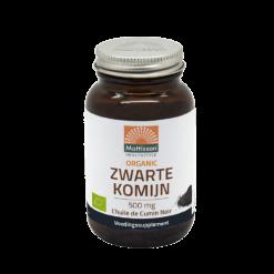 Biologische Zwarte Komijn olie - 500mg capsules