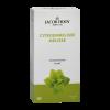 Jacob Hooy Kruidendrank Citroenmelisse Een heerlijke frisse kruidenthee op basis van Citroenmelisse. Handig om mee te nemen of als losse thee (kruiden) niet uw ding is. 20 zakjes van 1.8 gram per verpakking, voldoende voor een lekkere mok thee.